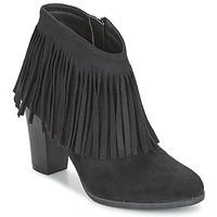 Schuhe Damen Low Boots Elue par nous VOPBIL Schwarz