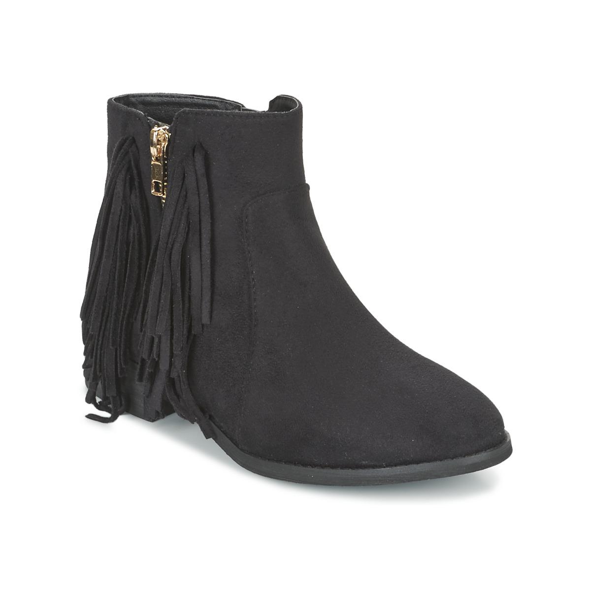 Elue par nous VOPFOIN Schwarz - Kostenloser Versand bei Spartoode ! - Schuhe Boots Damen 42,00 €