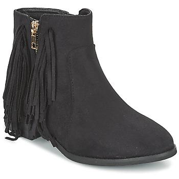 Schuhe Damen Boots Elue par nous VOPFOIN Schwarz