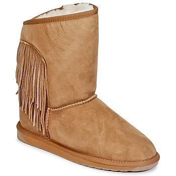 Schuhe Damen Boots EMU WOODSTOCK GREEN MULTI WF SDE