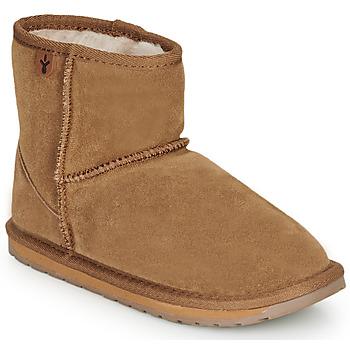 Schuhe Mädchen Boots EMU WALLABY MINI GREEN MULTI WF SDE