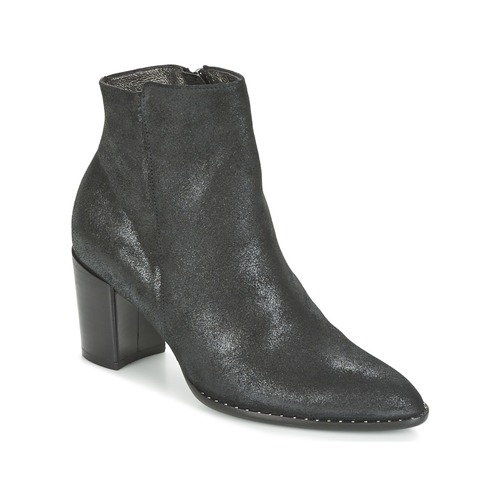 France Mode OLFY Schwarz Schuhe Low Boots Damen 74,50