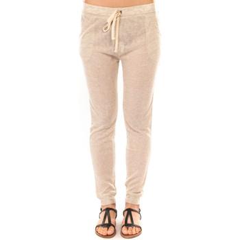 Kleidung Damen Jogginghosen Sweet Company Pantalon American Vitrine Perle BLV02 Beige