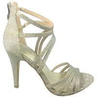 Schuhe Damen Sandalen / Sandaletten Cassis Côte d'Azur Sandales Multibrides Ouvert Oria Argent Silbern