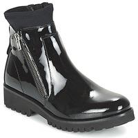 Schuhe Damen Boots Regard REJABI Schwarz