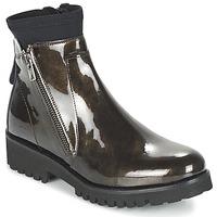 Schuhe Damen Boots Regard REJABI Bronze