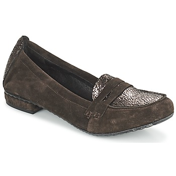 Schuhe Damen Slipper Regard REMAVO Braun