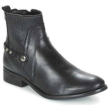 Schuhe Damen Boots Regard ROSARA Schwarz
