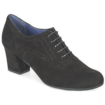 Schuhe Damen Ankle Boots Perlato HELVINE Schwarz