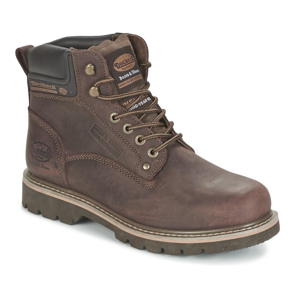 Dockers by Gerli IRETOK Kaffee - Kostenloser Versand bei Spartoode ! - Schuhe Boots Herren 89,95 €