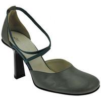 Schuhe Damen Sandalen / Sandaletten Alternativa DecoltePuntaTondaTaccoLargoplateauschuhe Multicolor