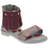 Schuhe Mädchen Sandalen / Sandaletten Lulu Sandalo Frangetta Intercambiabile sandale