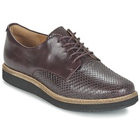 Schuhe Damen Derby-Schuhe Clarks GLICK DARBY Aubergine