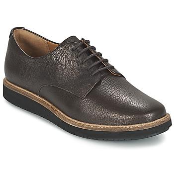 Schuhe Damen Derby-Schuhe Clarks GLICK DARBY Braun