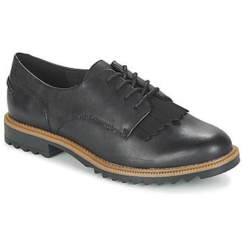 Schuhe Damen Derby-Schuhe Clarks GRIFFIN MABEL Schwarz