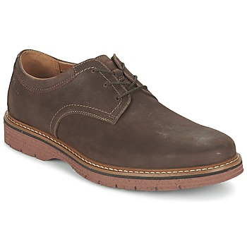 Schuhe Herren Derby-Schuhe Clarks NEWKIRK PLAIN Braun