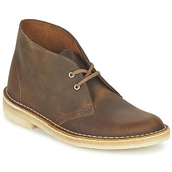 Schuhe Damen Boots Clarks DESERT BOOT Braun