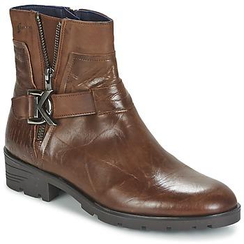 Schuhe Damen Boots Dorking NALA Braun