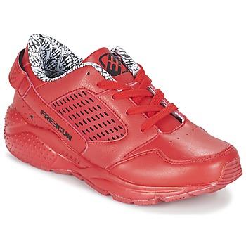 Schuhe Jungen Sneaker Low Freegun FADSA Rot