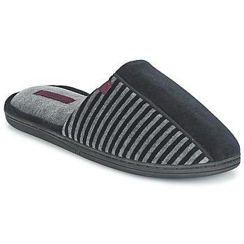 Schuhe Herren Hausschuhe DIM EKIM Schwarz