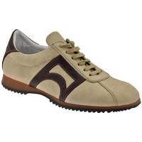 Schuhe Herren Sneaker High Bocci 1926 CampusLowsneakers Weiss