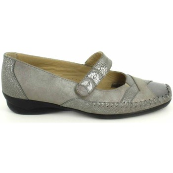 Schuhe Damen Ballerinas Boissy Ballerine Lunel Gris Beige Grau