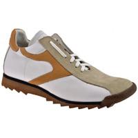Schuhe Herren Sneaker High Bocci 1926 Fußballsneakers Weiss