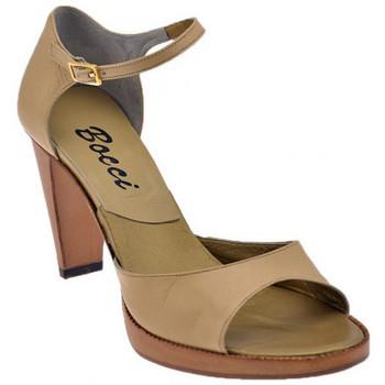Schuhe Damen Sandalen / Sandaletten Bocci 1926 Strap Heel 90 sandale Beige