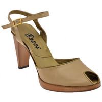 Schuhe Damen Sandalen / Sandaletten Bocci 1926 Prüft Heel 90 sandale Beige