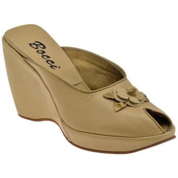 Schuhe Damen Pantoletten / Clogs Bocci 1926 Tauchte Blumen Wedge 90 sabot