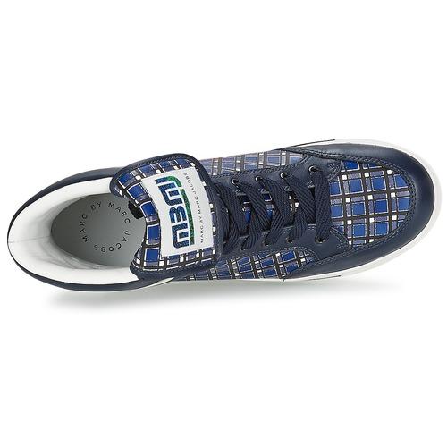 Marc by Marc Jacobs CUTE KIDS MINI TOTO PLAID Blau / Multifarben  Schuhe Sneaker High Damen 262,40