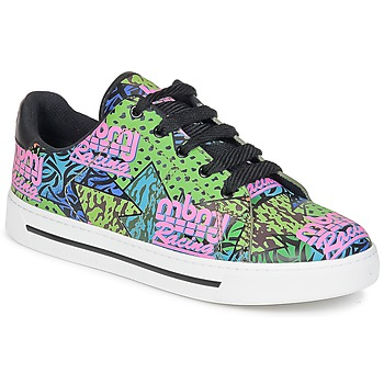Schuhe Damen Sneaker Low Marc by Marc Jacobs MBMJ MIXED PRINT Multifarben