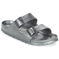 Schuhe Damen Pantoffel Birkenstock ARIZONA-EVA Grau