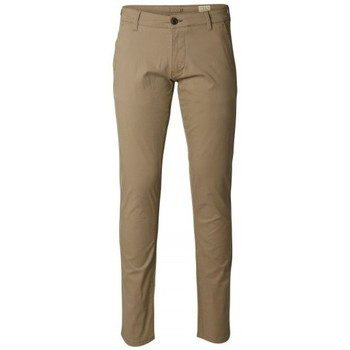 Kleidung Herren Chinohosen Selected Chino  Three Paris Greige ST Beige