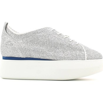 Schuhe Damen Sneaker Low Alberto Guardiani SD56451B Shoes with laces Frauen Silver Silver