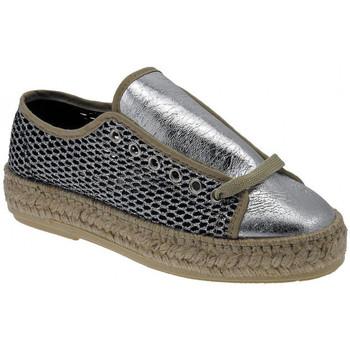 Schuhe Damen Leinen-Pantoletten mit gefloch Trash Deluxe Sneakers Fashion Cordura wedge