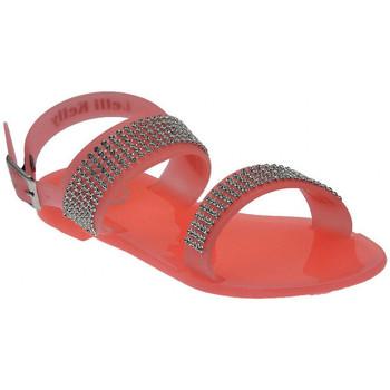 Schuhe Kinder Sandalen / Sandaletten Lelli Kelly GranitaSandaloStrassPlasticasandale Multicolor