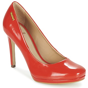 Schuhe Damen Pumps Dumond LOUBAME Rot