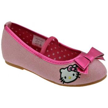 Schuhe Kinder Ballerinas Hello Kitty Glitter Fiocco ballet ballerinas Rose