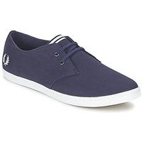 Schuhe Herren Sneaker Low Fred Perry BYRON LOW TWILL Marine