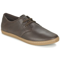 Schuhe Herren Sneaker Low Fred Perry BYRON LOW LEATHER Braun