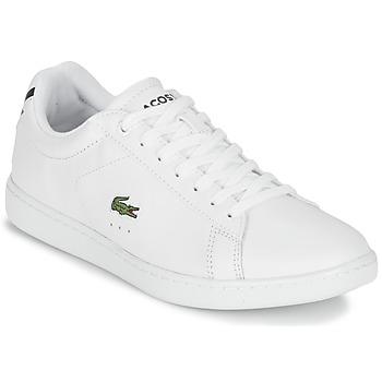 Schuhe Damen Sneaker Low Lacoste CARNABY EVO BL 1 Weiss