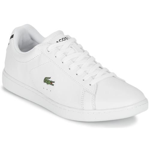 Lacoste CARNABY EVO BL 1 Weiss  Schuhe Sneaker Low Damen