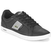 Schuhe Herren Sneaker Low Lacoste EUROPA LCR3 Schwarz