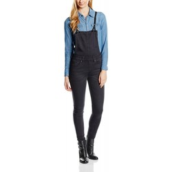 Kleidung Damen Overalls / Latzhosen G-Star Raw 3301 High Skinny Scaal Grey Superstretch Dark Aged Grau