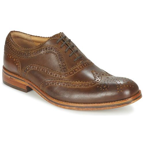 Hudson KEATING CALF Derby-Schuhe Braun  Schuhe Derby-Schuhe CALF Herren 86,80 3c4953
