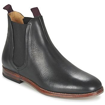 Schuhe Herren Boots Hudson TAMPER CALF Schwarz