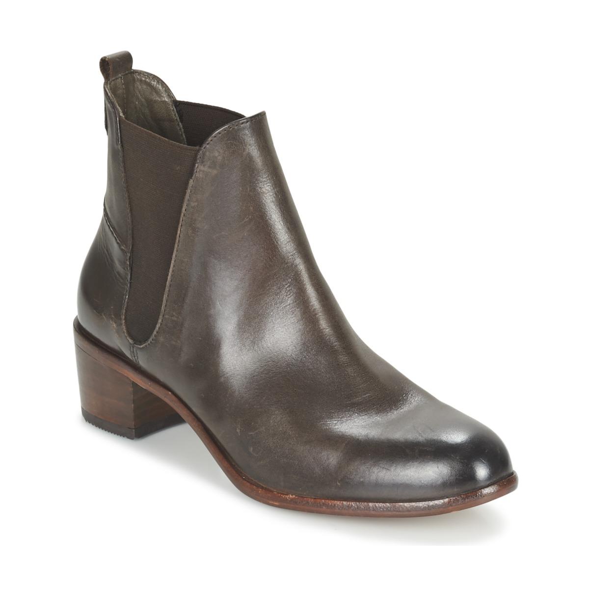 Hudson COMPUND CALF Braun - Kostenloser Versand bei Spartoode ! - Schuhe Low Boots Damen 118,40 €