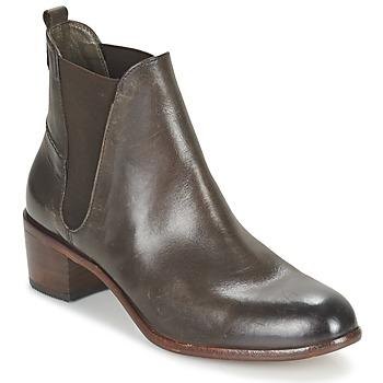 Schuhe Damen Low Boots Hudson COMPUND CALF Braun