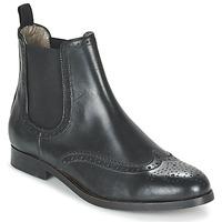 Schuhe Damen Boots Hudson ASTA CALF Schwarz